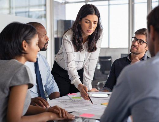 Mise en place d'un plan de financement dans un business plan par une entreprise
