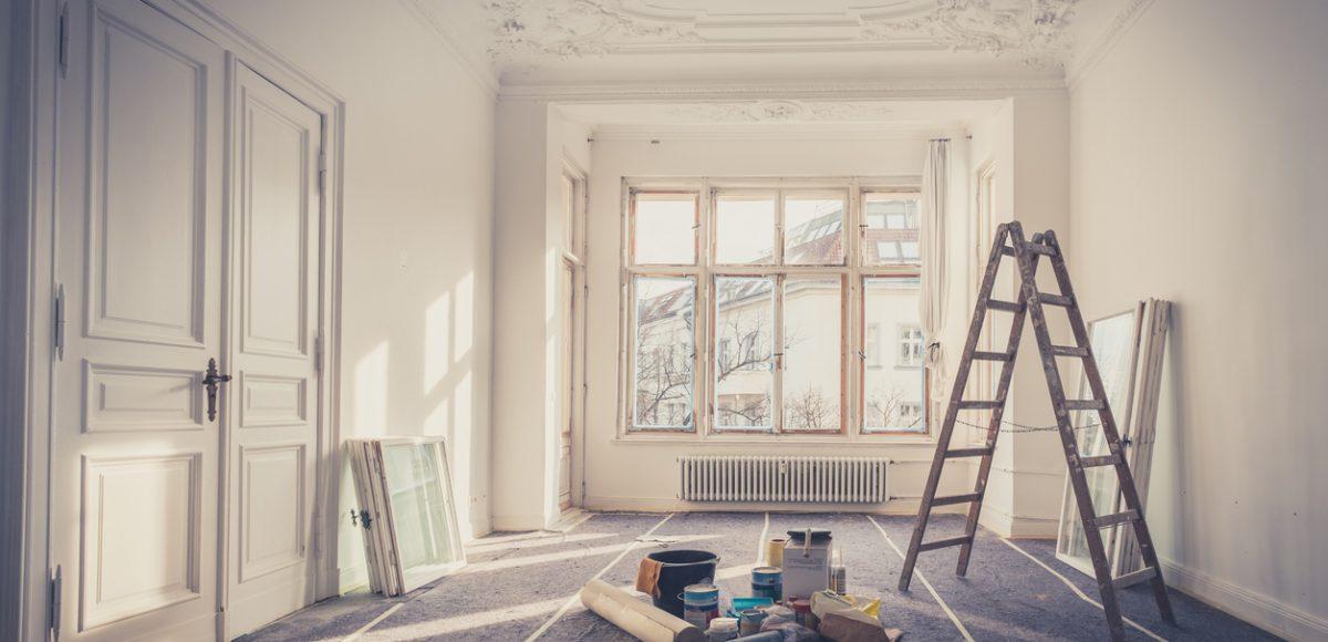 appartement au cours de la restauration
